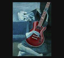 Old Man Playing Electric Guitar Unisex T-Shirt