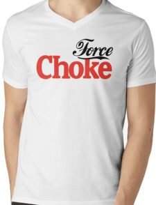 Force Choke Mens V-Neck T-Shirt