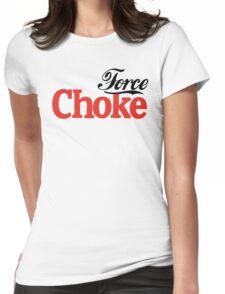 Force Choke Womens Fitted T-Shirt