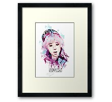 SNSD - Sunny Framed Print