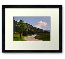 Bavarian Spring Framed Print