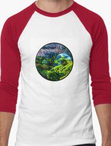 Earth Yin yang Men's Baseball ¾ T-Shirt