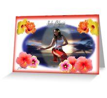 Jill Pierce of Shades of Polynesia Greeting Card