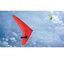 Hand Gliding Photographic Print