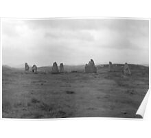Callanish Stone Circle III, Isle of Lewis, Outer Hebrides Poster