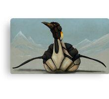 Mecha-Penguin Canvas Print