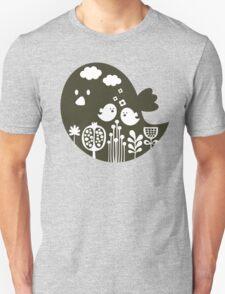 Birds and grass. T-Shirt
