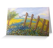 Texas Bluebonnets by Terri Holland Greeting Card