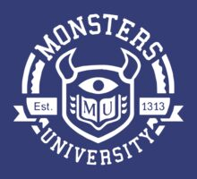 Monsters University! MU  by Alkasen