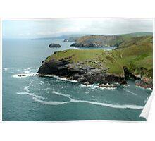 Tintagel, Cornwall  Poster