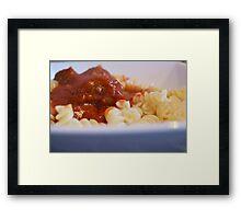 Italian Meatball Framed Print