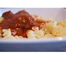 Italian Meatball Photographic Print