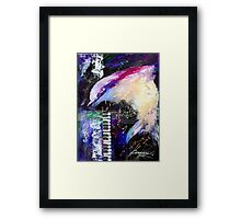 MUSIC WITH A PORPOISE Framed Print