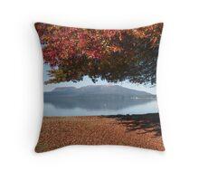 autumn tree 2 Throw Pillow