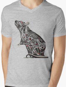 Mechanical Rat Mens V-Neck T-Shirt