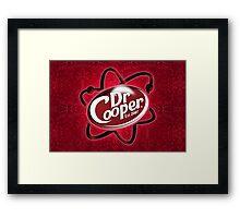 Dr. Cooper Framed Print