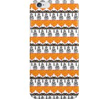 Orange garden. iPhone Case/Skin