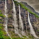 Seven Sisters Falls, Norway by Unwin Photography