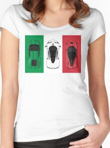 Tricolore Women's Fitted Scoop T-Shirt
