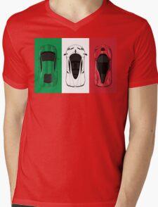 Tricolore Mens V-Neck T-Shirt
