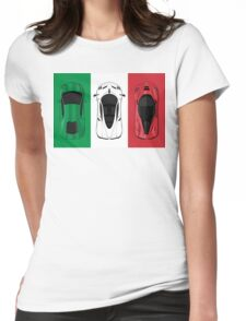 Tricolore Womens Fitted T-Shirt