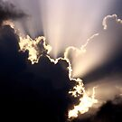Sun Rays Before A Storm. by Stan Owen