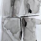 Untitled 3- Paper Round Series by Richard Sunderland