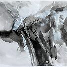Untitled 7- Paper Round Series by Richard Sunderland