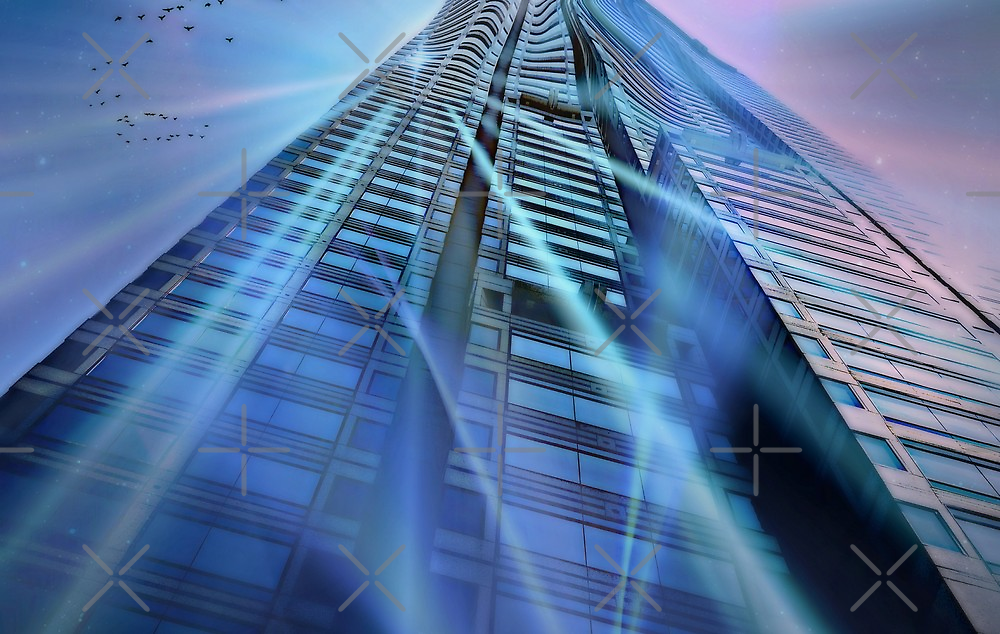 Into the vortex by Scott Mitchell
