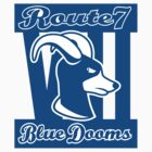 Route 7 Blue Dooms by BabyJesus