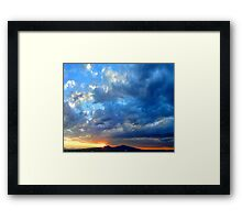 ©HCS And The Blue Cloud Framed Print