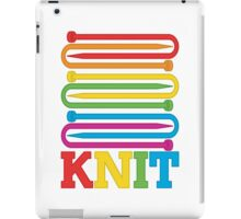 KNIT Rainbow iPad Case/Skin