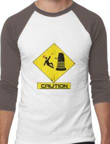 Caution Dalek! Men's Baseball ¾ T-Shirt