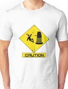 Caution Dalek! Unisex T-Shirt