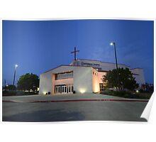 Centennial Church in Frisco, Texas Poster