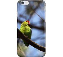 Black-winged lovebird iPhone Case/Skin