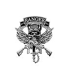 1st Ranger Bn  (iPhone case) by Walter Colvin