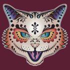 Sugar Skull Kitty by SwanStarDesigns
