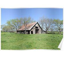 Prairie Barn Companion Poster