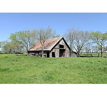 Prairie Barn Companion Photographic Print