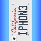 iPhone License Plate by Chrisbooyahh