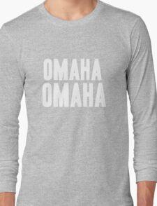 OMAHA OMAHA! (white) Long Sleeve T-Shirt