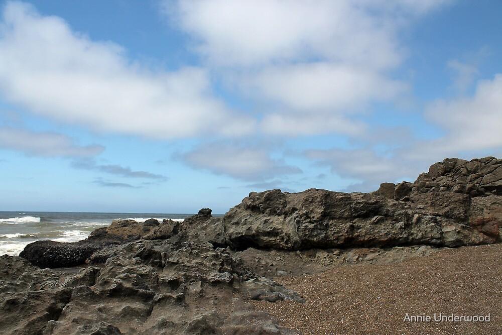 Rocks And Sky by Annie Underwood