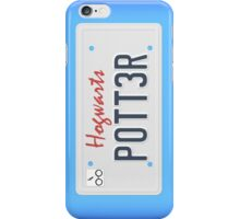 Potter License Plate iPhone Case/Skin