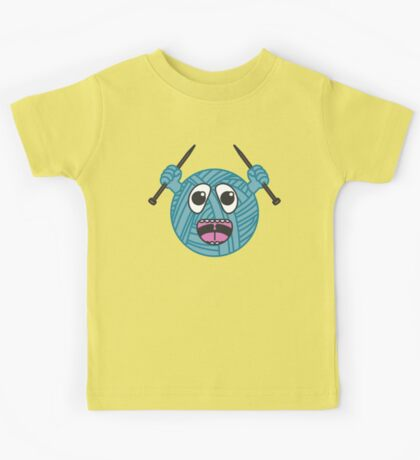 Yarnboy! - Blue Kids Tee
