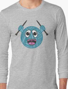 Yarnboy! - Blue Long Sleeve T-Shirt