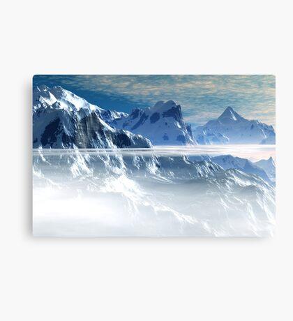 Chill Layer Canvas Print