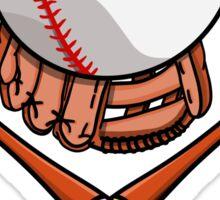 Baseball Pattern Sticker