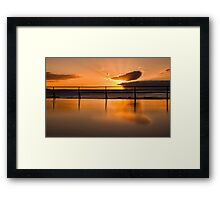 Good morning Coalcliff, Australia Framed Print
