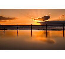 Good morning Coalcliff, Australia Photographic Print